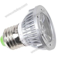 110-220V E27 1x1W LED Warm White Light Spotlight Lamp Bulb