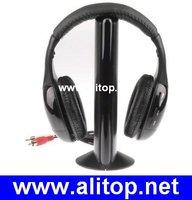 MP3 PC TV CD AUDIO 5 in 1 wireless earphone