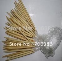 Circular Bamboo Knitting Needles one Set=14 Pcs US 0-15 2.0-10.0mm