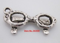 400Pcs/lots Tibet Silver nice Sun glasses Charms alloy charms 21*10mm