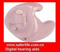 2013 New techinolgy 2CHANNELS In the ear Digital Custom-made Hearing Aid