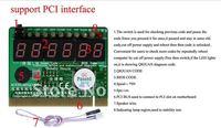 PCI Desktop Motherboard Diagnostic Card Stability 6-Bit MKQCP6A