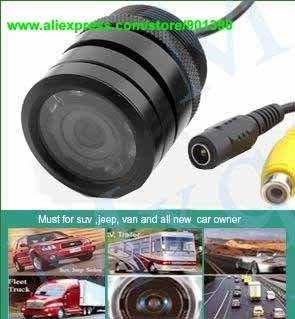 Night vision car camera 9 LED Color Car RearView Camera free shipping