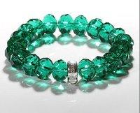 Free shipping by HK post! Wholesale crystal charm bracelet .fashion bracelet.925 sterling silver jewelry IMG3042