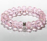 Free shipping by HK post! Wholesale crystal charm bracelet .fashion bracelet.925 sterling silver jewelry IMG3104