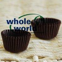 Brown Small tart /cake /chocolate paper cases cupcake cake liner, total Diameter is 9cm , 6500pcs/box