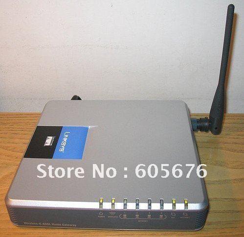 Free shipping Linksys Wireless-G ADSL 2 Gateway Modem Router WAG200G(China (Mainland))