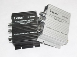 5PCS/LOT Class HiFi AMP Power Stereo Amplifier Lepai LP2020 Mini Digital Car Amplifier(China (Mainland))