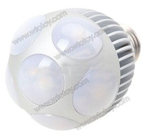 E27 6x1W LED Warm White Light Bulb Spotlight Lamp 110-220V