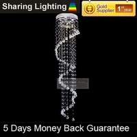[Sharing Lighting]modern lighting with crystal balls,crystal chandelier lamp+free shipping