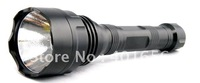 CREE Q5 aluminum led flashlight for camp lighting S74 Free shipping