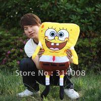 Giant Plush Stuffed Spongebob Large Size 33 inches/ 85cm Free Shipping