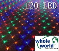 Color 120 LED NET lights for Party wedding garden,Christmas led light, 50pcs/lot ,free shipping