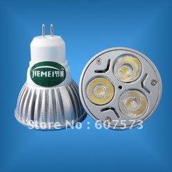 Free shipping HOT SALE! 50pcs 3w 220v led bulb MR16 led spotligt(China (Mainland))