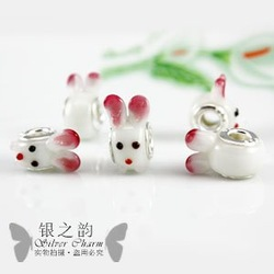 Discount Free shipping wholesale cheap fashion european murano Glass charms Beads fit DIY Bracelets jewelery supplies 20pcs/lot(China (Mainland))