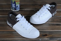 free shipping Single leisure shoes canvas shoes han edition men's shoes BanXie