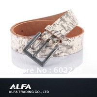 100% Cow Leather Belt With Crack Strap,One Layer Strap Belt,MOQ 1 Pc,Free Shippment