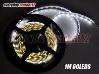 Discounting      Free Shipping 3528 5M 60pcs/m 300pcs Non-waterproof cool white LED strip light
