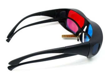 Red Cyan Myopia General 3D Glasses for 3D Movie Game