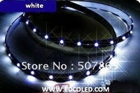 Free shipping by wholesale 30cm 15 LED 3258SMD White light  car led strip waterproof 10pcs/lot