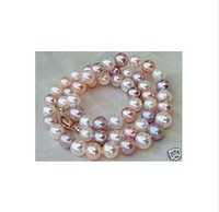 Women's Jewelry Multi-color Cultured Pearl Necklace