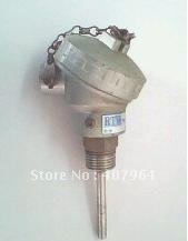 industrial thermocouple SS304 sheath K Type 0-1000C L=100mm diameter fast delivery(China (Mainland))