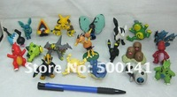 Free EMS shipping 500pcs/L 4cm Pokemon Character Figures Pocket Monsters Insect Collecting Game Boy