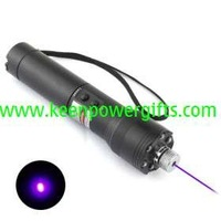 3 in 1 50mW 405nm Purple Blue Laser Flashlight 1x18650 (battery included)
