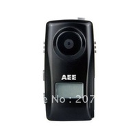 FREE SHIPPING  Mini Handsfree Camcorder with Monochrome LCD Screen-AEE MD83