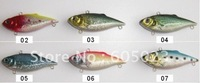 wholesale 250pcs/lot Superior fishing lure 60mm plastic minnow fishing baits free shipping (5 colors)