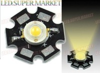 HOT Sale!  90LM 3W 10pcs Lot 10 Warm White High Power LED Lamp Prolight Star +Free Shipping (wholesale and retail)