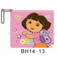 200pcs Cartoon Dore The Explorer Coin Purse Coin Bag Charge Bag Wholesale Free Shipping