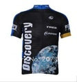 Free shipping new DISCOVERY short sleeve cycling jersey 2012
