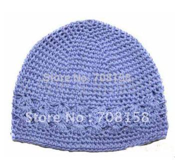 80pcs kufi hats girl crochet hat baby beanie crochet cap kufi caps toddler baby knited beanies,free shipping