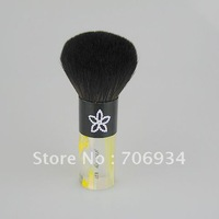 3pcs/lot Nylon Brushes Makeup Black Quality Wool Acrylic Handle Brushes Set Mushroom-shaped brushes E27