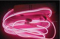 In-Ear LED headset / stereo headphone  LED flash light earpiece / stereo earphone MP3/MP4 headphones