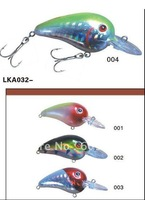200pcs  new desigh 2011 100%guaranteed mixed 4 color fishing lures hot sale around the world