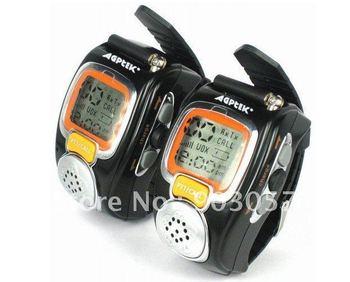 2012 Hotsale Two Way Radio Watch RD-008 Walkie Talkie, wristwatch walkie Free Shipping China Post Sample