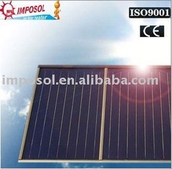 high pressure black chrome flat panel solar thermal collector(China (Mainland))