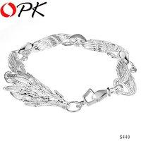 OKP JEWELRY 925 sterling silver bracelet Dragon bracelet chain Lastest design arrogant looking good good quality 440
