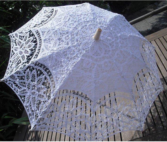 Online kopen wholesale ivory lace umbrella uit china ivory lace umbrella groothandel - Paraplu katoen ...