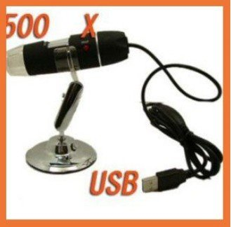 500X 2.0 MP 8-LED USB Digital Microscope Video Cam ,free shipping 1pcs/lot