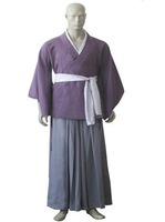 Wholesale Free Shipping Hot Selling Cheapest New Halloween Cosplay Costume CE1706 Hakuoki Toshizo Hijikata