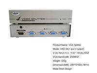 ** Factory direct sale**  4 Port VGA Splitter  **hot sale**