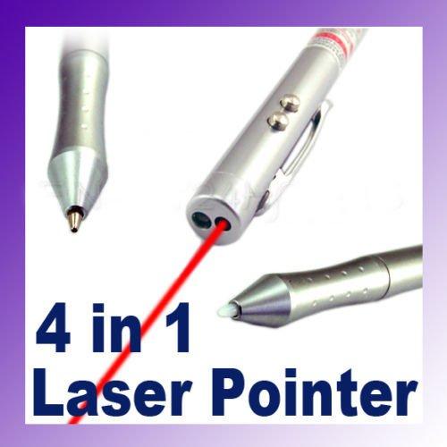 7805 4-in-1 Laser Pointer+Ball Pen+PDA Stylus Pen+LED Light(China (Mainland))
