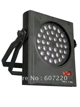 wholesale 36*3W leds PAR can light stage lighting flat par lights  2pcs