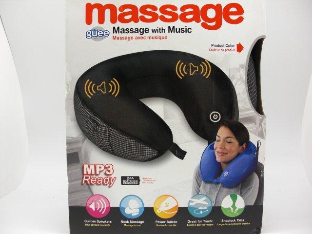 Electric Massage Pillow U-shaped MP3 / Music U-shaped neck pillow(China (Mainland))