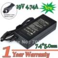 19 4.74A 90W 7.4*5.0 Replacment Ноутбук Питания переменного тока, Адаптер Зарядного устройства для hp Compaq G50 G70 Min