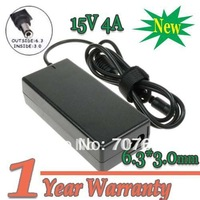15V 4A 60W 6.3*3.0mm Replacment Laptop AC Power Adapter Charger for ToshiA Satellite A10 A15 A55 M20 M30 M45 M55 4600