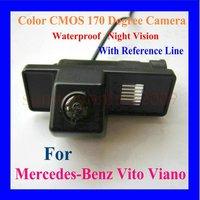 CMOS color night vision rear view camera in car camera for Mercedes-Benz Vito Viano(2004-2011) car Cameras buckup camera